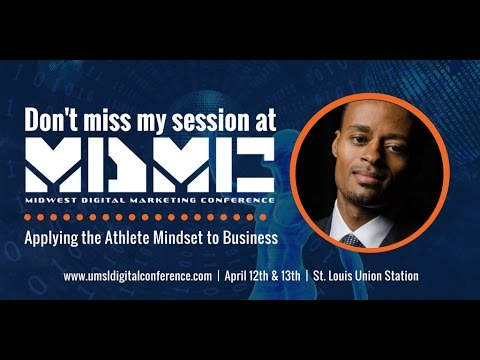 """""""Work On Your Game"""" @ UMSL Midwest Digital Marketing Conference"""
