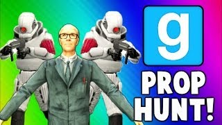 Gmod Prop Hunt Funny Moments - Get Out of my Kitchen, Running Sink, Microwave Shield (Garry