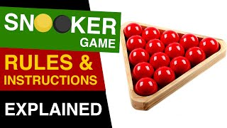Snooker Rules EXPLAINED : How to Play Snooker : Rules of Snooker screenshot 4