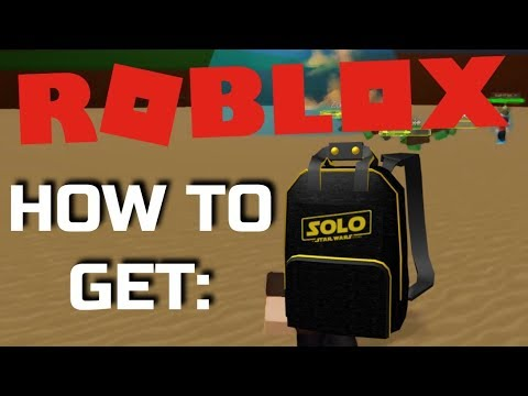 EVENT  HOW TO GET Solo Branded Backpack - ROBLOX - YouTube 40f7f0ee3d