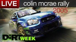 Colin McRae Rally 2005 Livestream-Aufzeichnung - #DiRTWEEK