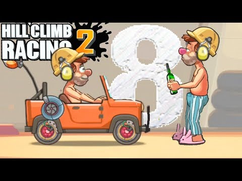 Hill Climb Racing 2 - Drunk worker #8 - Gameplay - Android Games