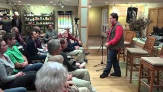 Dan Kittredge speaking at the Southeast Iowa Food Hub 2015 Celebration Fundraiser