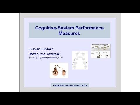 Cognitive System Performance Measures