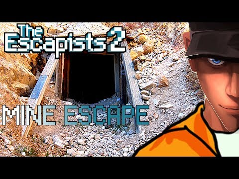 The Escapists 2 OLD MINE ESCAPE Rattlesnake Springs | Let's play The Escapists 2 Gameplay