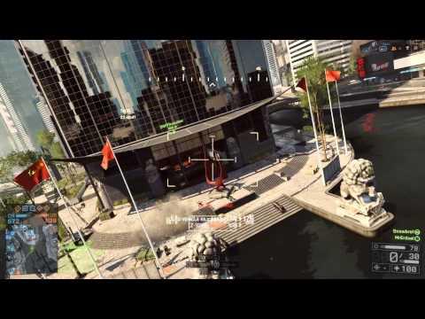 """Battlefield 4 Multiplayer #004 - """"Gestolpert, Fuß gebrochen. KIA!"""" - Siege of Shanghai - Conquest"""