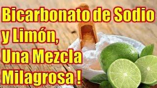 El Bicarbonato de Sodio y Limón mezclados, uno de los Descubrimientos Médicos más Grandiosos