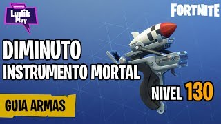 DIMINUTO DEADLY INSTRUMENT ? FORTNITE SAVE THE WORLD GUIA English Review