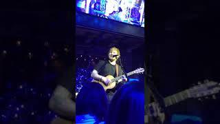 Ed Sheeran - Love Yourself (live in Hintertux, Austria, 15.12.17) - private concert -