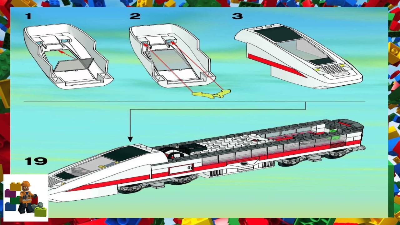 Lego Instructions City Trains 7897 Passenger Train Book 1