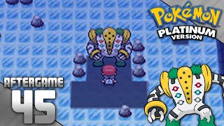 Pokemon Platinum Part 45 - Catching Regigigas [Post-Game Finale]