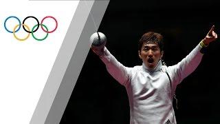 Korea's Park wins Men's Epee gold
