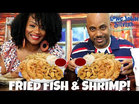 LONG JOHN SILVERS MUKBANG! WHY M.S. DOESN'T EAT INDIAN FOOD!