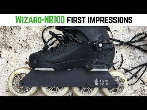 Wizard NR100 First Impressions // Inline Skating Vlog #3