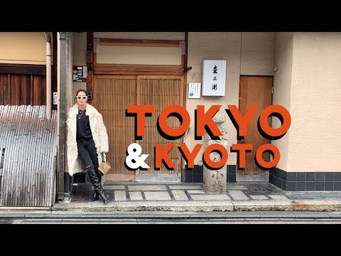 Tokyo & Kyoto + Skincare Travel Vlog   Song of Style   Aimee Song