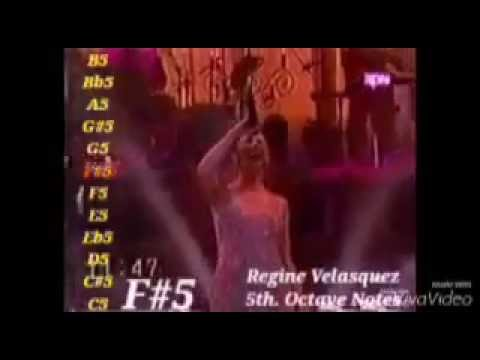 EXTREME Vocal Acrobatics -Regine Velasquez