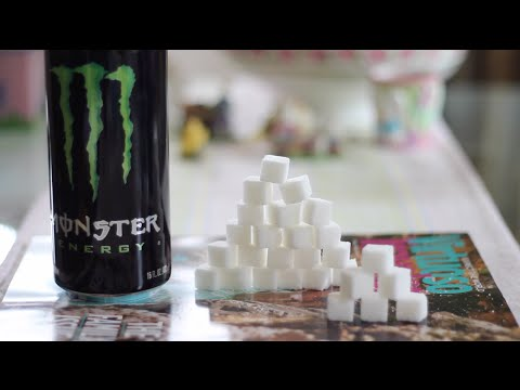 How Much Sugar is in Monster Energy Drinks and Soda?