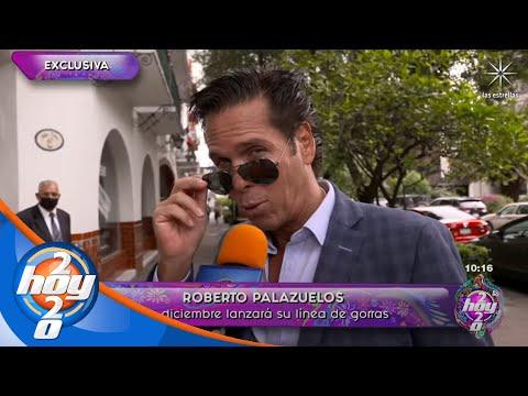 Roberto Palazuelos está listo para estrenar su marca 'Papi Palazuelos' | Hoy