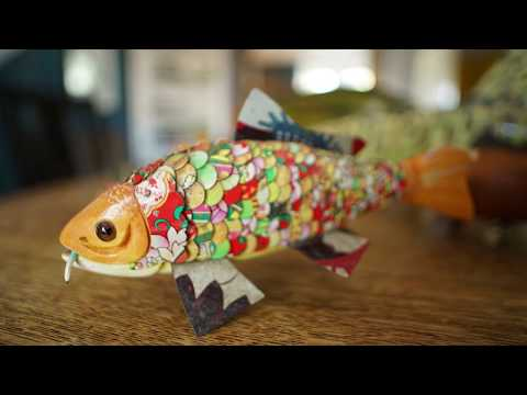 Hand Carving Fishing Lures With Aage Berring