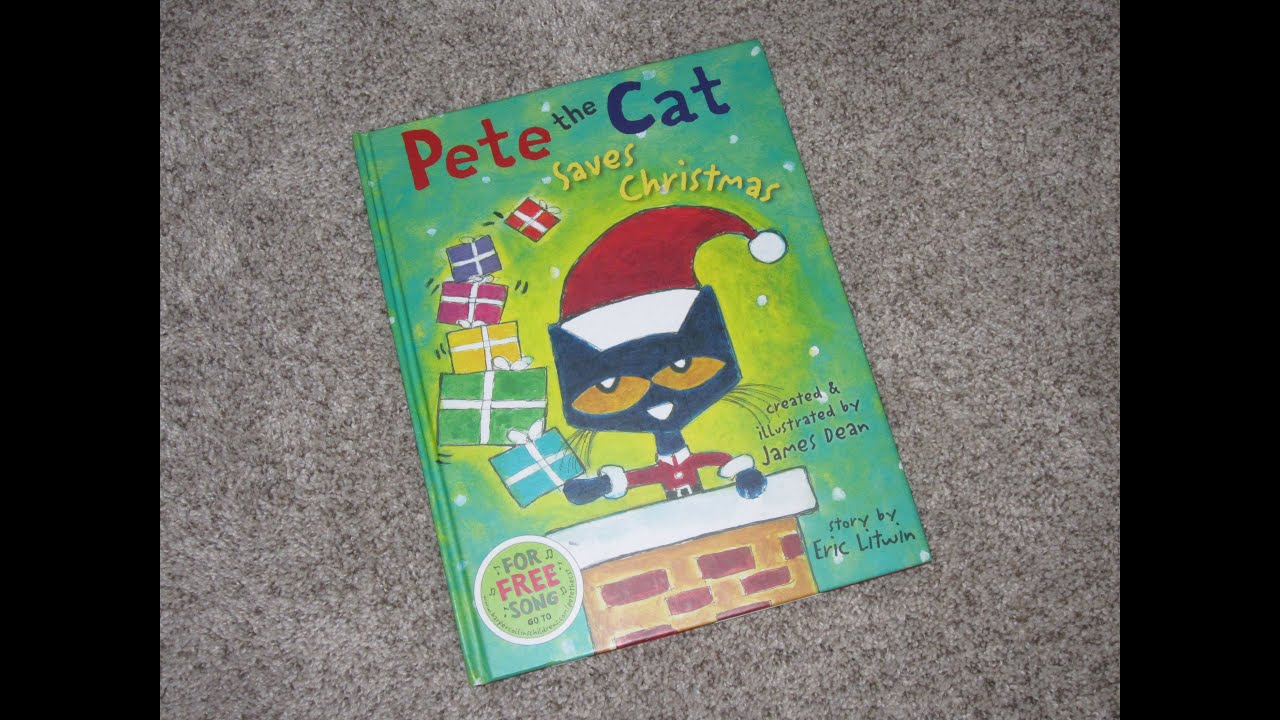 pete the cat saves christmas childrens read aloud story book for kids by james dean - Pete The Cat Saves Christmas