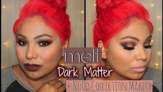 melt Dark Matter + NoOd collection makeup