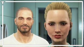 Fallout 4 - Character Creation Создание персонажа - x8