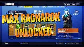 How to LEVEL UP FAST in Fortnite Season 5! SECRETS to Unlock Max RAGNAROK & DRIFT Skin FASTER!
