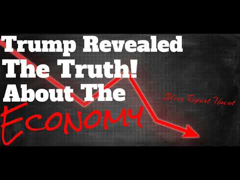 """Trump Revealed The Truth About The U.S. Economy! The Unemployment Rate """"Isn't A Real Number"""""""