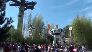 toy story playland disneyland paris hd walkthrough complete tour