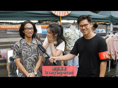 Can Singaporean Chinese Speak Chinese? (Prank)