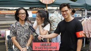 Can Singaporean Chinese Speak Chinese? (Prank)