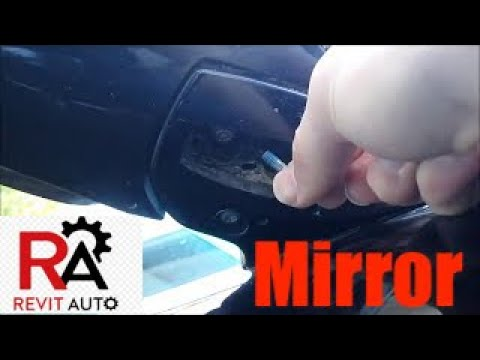 hqdefault lexus rx350 loose side view mirror fix (rear mirror) youtube