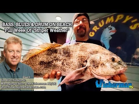 May 17, 2018 New Jersey/Delaware Bay Fishing Report with Jim Hutchinson, Jr