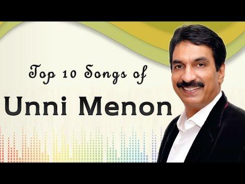 Top 10 songs of Unni Menon   Malayalam Movie Audio Jukebox