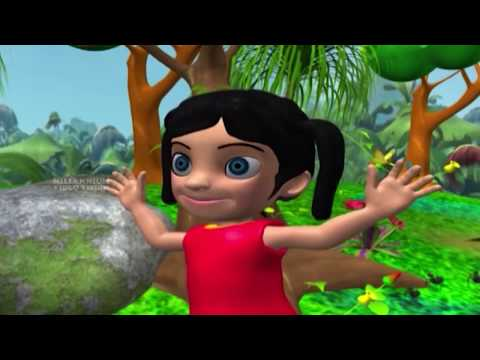Manikkutty | കാട്ടിലെ കൂട്ടുക്കാര് ഒത്തുകൂടി | മണിക്കുട്ടി | Malayalam Latest Kids Animation Song