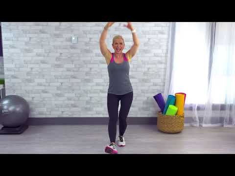 10-Minute Beginner Walking Workout with Chris Freytag