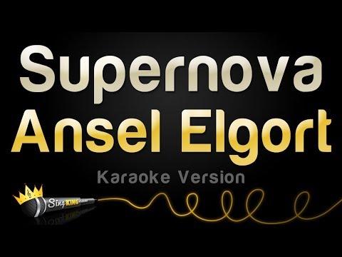 Ansel Elgort - Supernova (Karaoke Version)