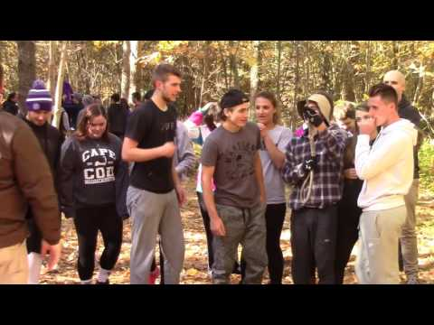 Adventure Bound Low Ropes Course October 14, 2016 Waterville High School