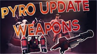 TF2: Jungle Inferno Day 3 - NEW PYRO WEAPONS!!! (JETPACK, CHANGES, TAUNT + MORE!)