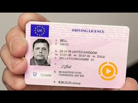 Licence Uk Automotive Driving Fake British