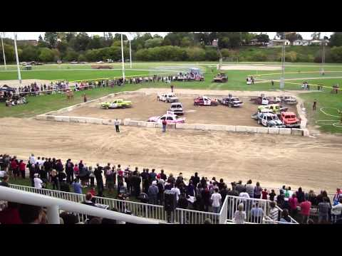 New Hamburg Fair Demolition Derby - Video 1