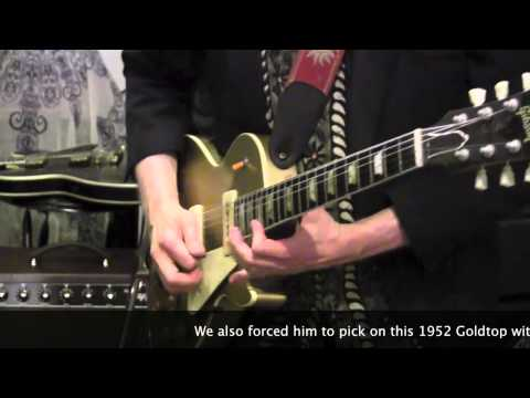 Lord Valve NAPPER 12 Amplifier Demo With Mitch Chmara & Strat & 52 Les Paul Goldtop