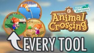 Animal Crossing New Horizons - EVERY TOOL