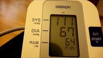 Verenpaine-Verenpainemittaus-Omron verenpainemittari