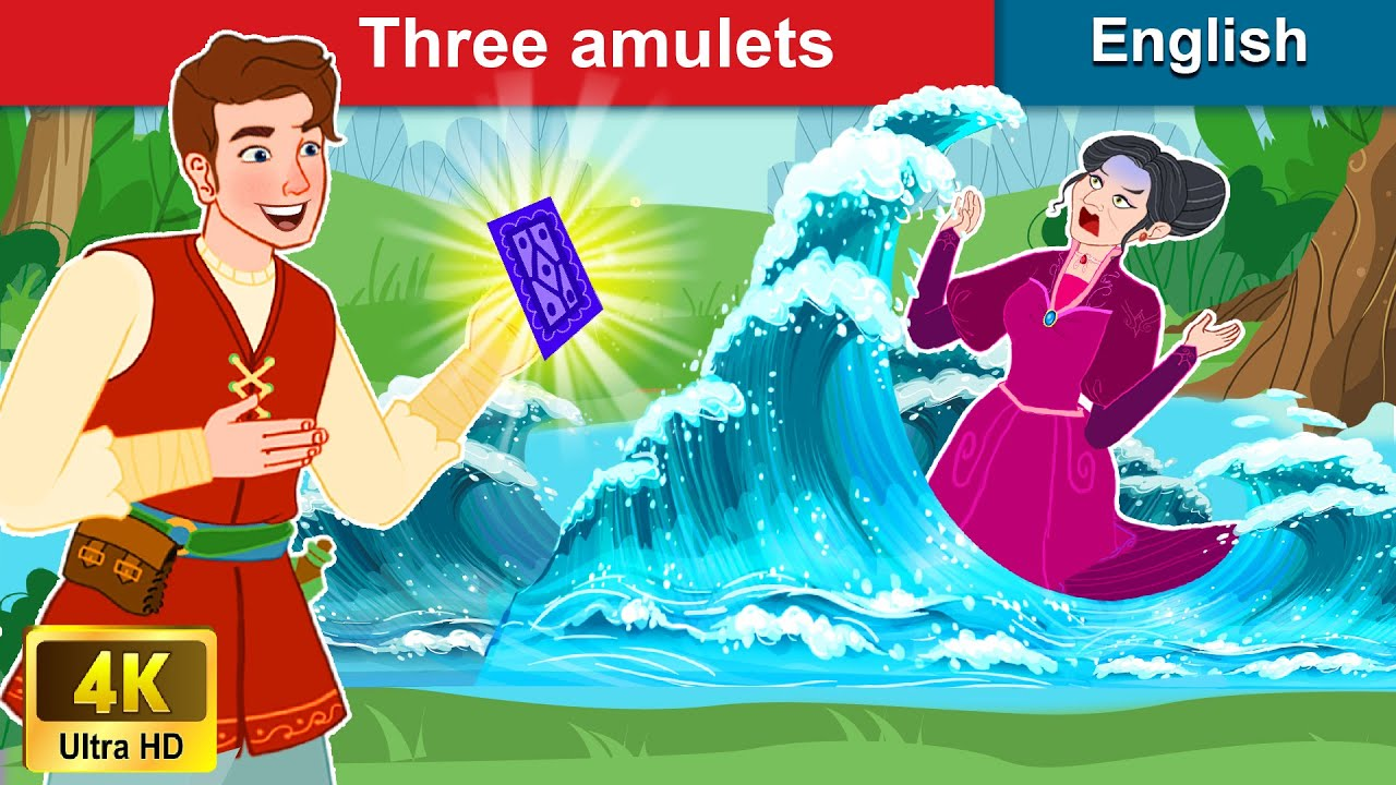 Three Amulets 📜 Bedtime stories 😴 Story in English | Stories For Teenagers | WOA Fairy Tales