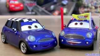 Cars 2 Becky Wheelin #33 Diecast Toy Disney Chase Mini Cooper car Pixar toys review by blucollection