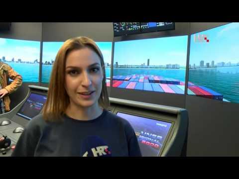 Simulator plovidbe na zadarskom Sveučilištu