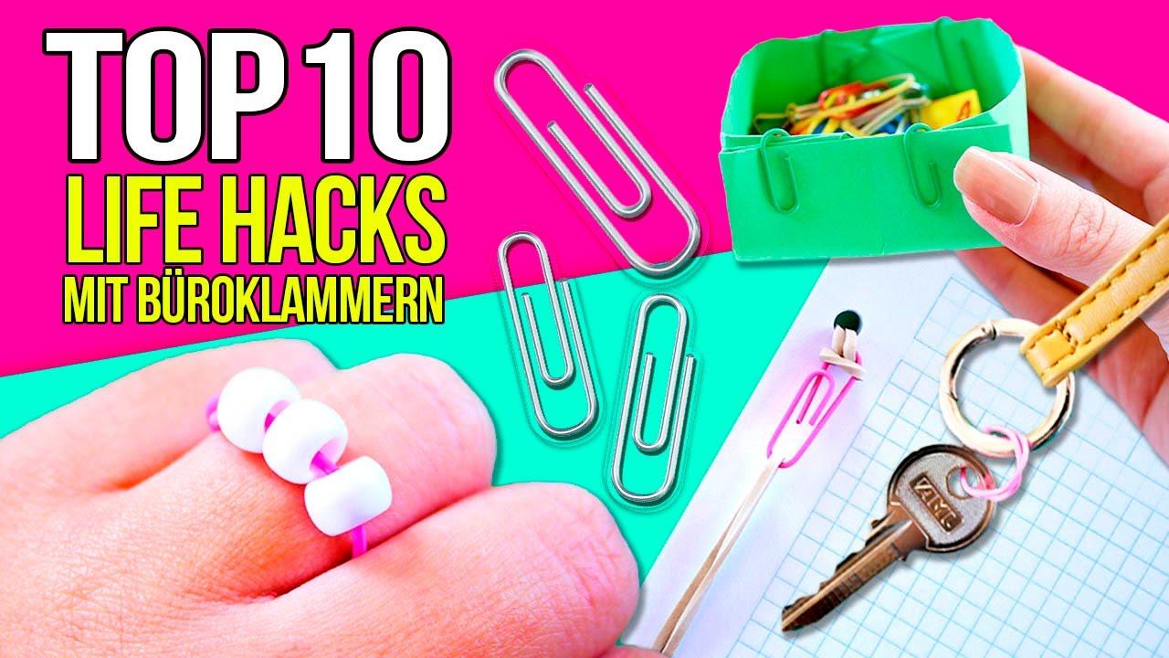 Top 1o Lifehacks Mit Buroklammern Lernen Sie Erstaunliche 12