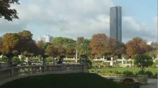 Jardines Luxemburgo palacio