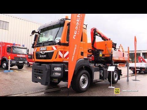2020 MAN TGM 13.290 Service Truck - Exterior Walkaround